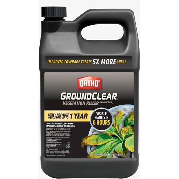 1 Gallon GroundClear Vegetation Killer Concentrate