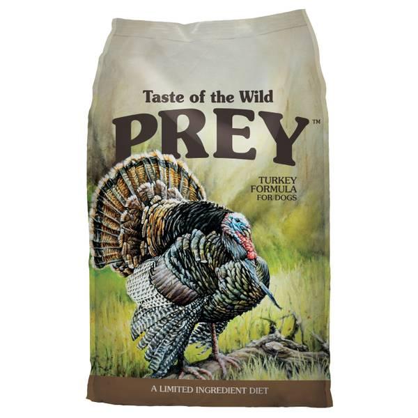 25 lb Prey Turkey Dog Food