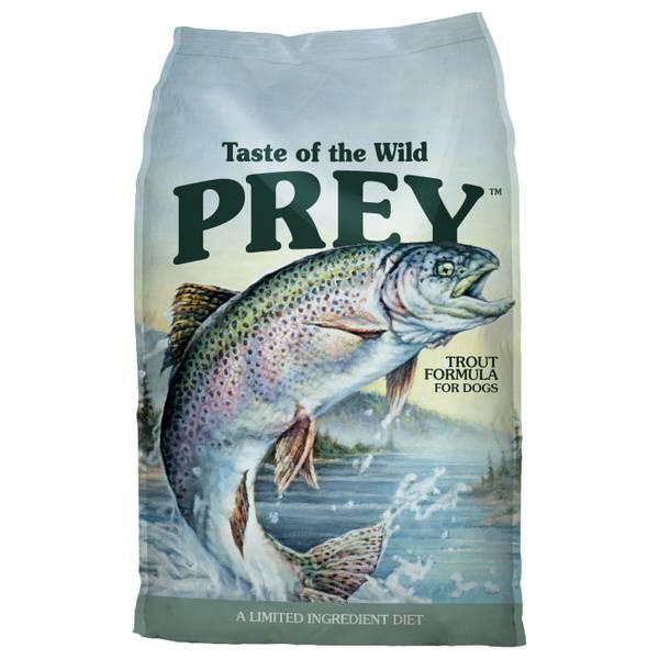 25 lb Prey Trout Dog Food