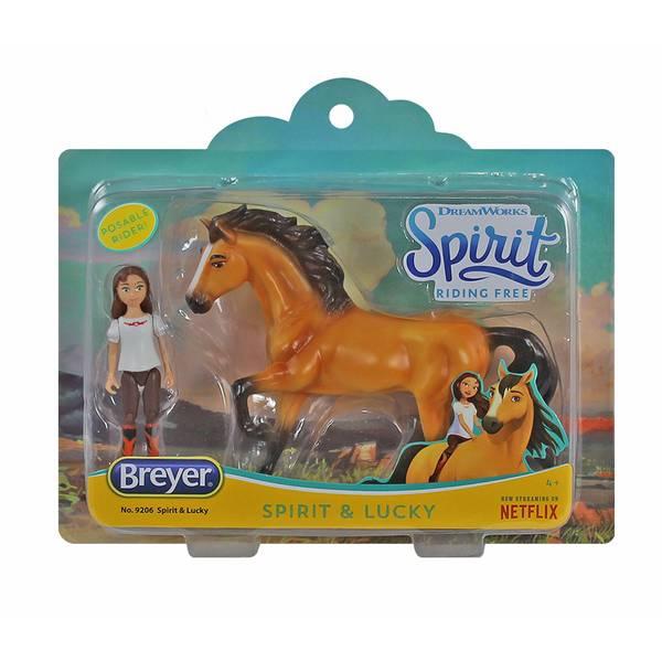 Breyer Spirit and Lucky Small Set