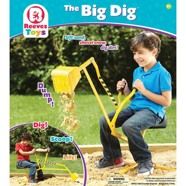 The Big Dig Metal Digger