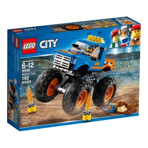 60180 City Monster Truck