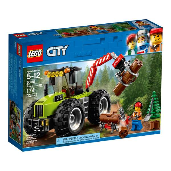 60181 City Forest Tractor