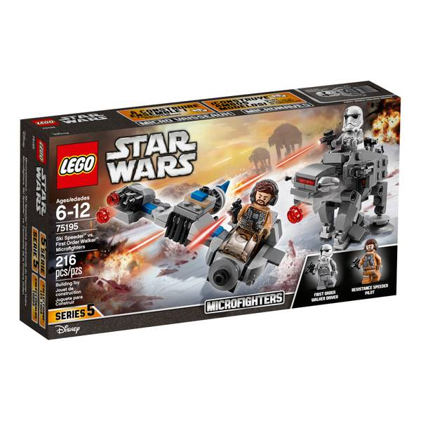 75195 Star Wars Ski Speeder vs FO Walker