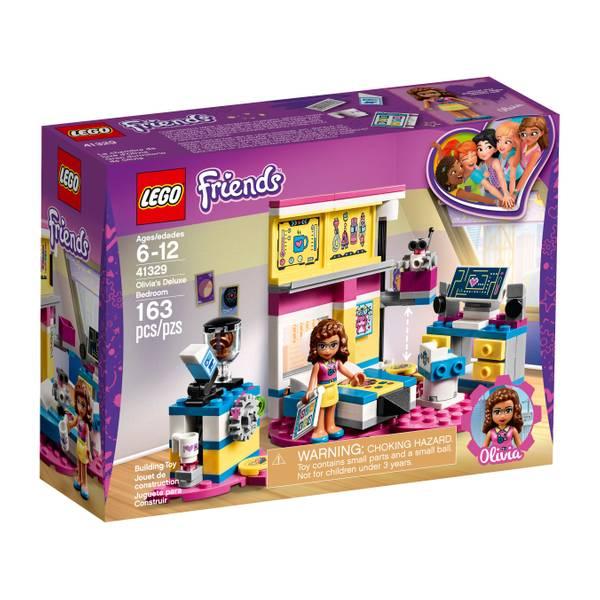 41329 Friends Olivia's Deluxe Bedroom