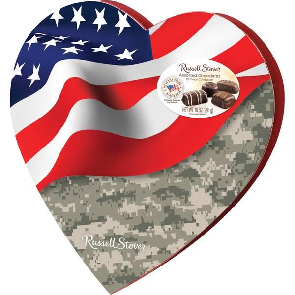 10  oz ALL AMERICAN HEART