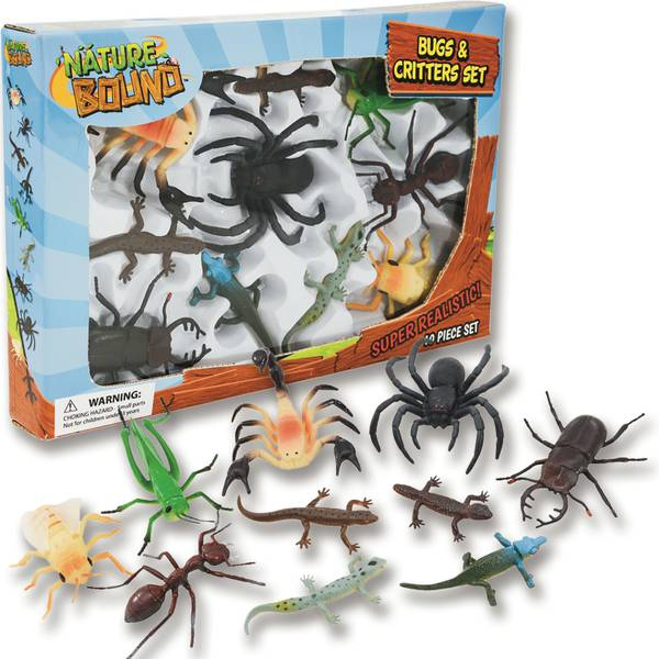 Nature Bound Bug & Critter 10-Piece Set