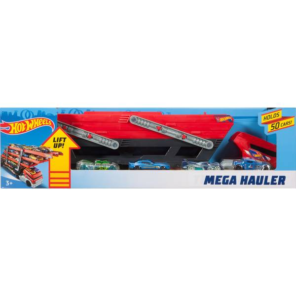 Mega Hauler with 4 Cars