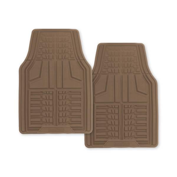 Tan 2-Piece Premium Goodyear Front Mat Set