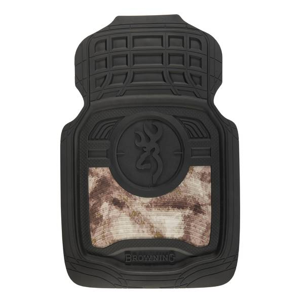 Black Front Floor Mat Set