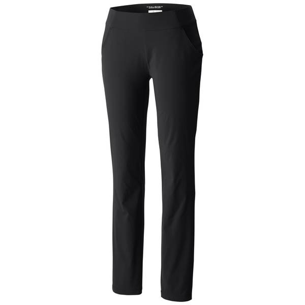 Misses Black Anytime Casual Pull-On Pants