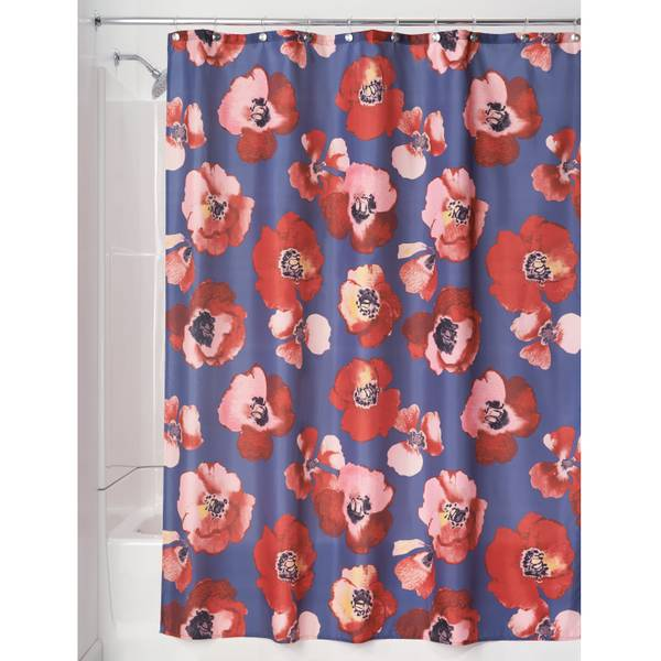Large Poppy Shower Curtain
