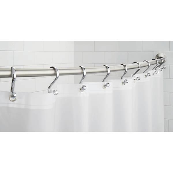 Interdesign Curved Shower Curtain Rod.Interdesign Curved Shower Curtain Rod