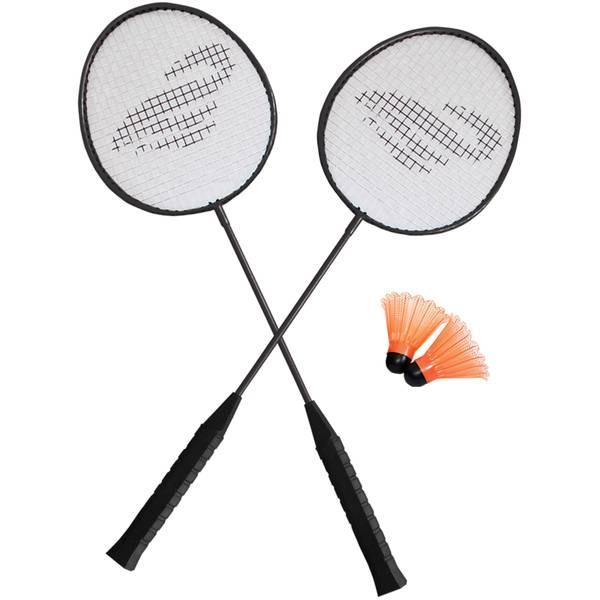 triumph 2 player badminton racket set