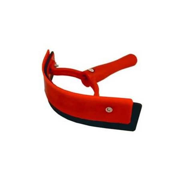 Red Sweat Scraper Pocket
