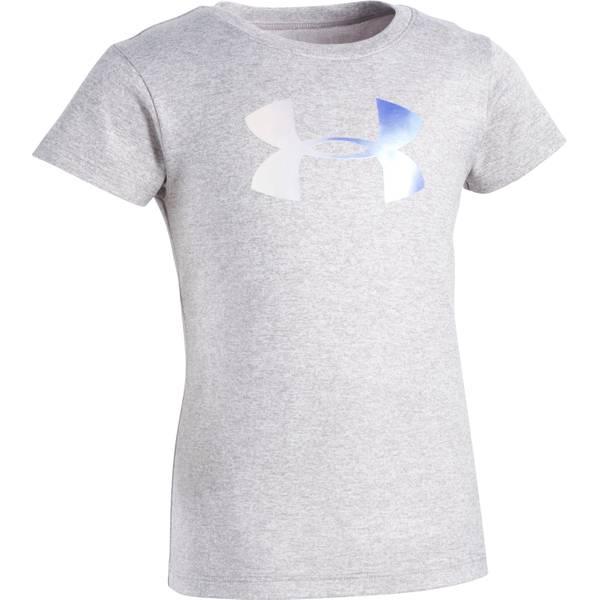 Girls' Short Sleeve Foil Big Logo T-Shirt