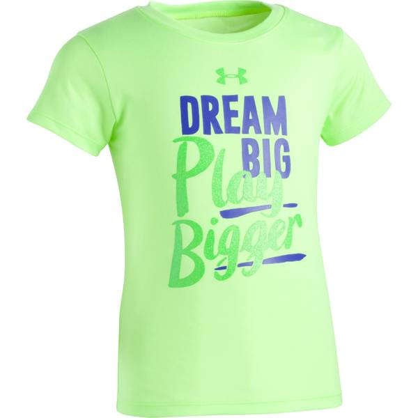 Girl's Short Sleeve Dream Big Play Bigger T-Shirt