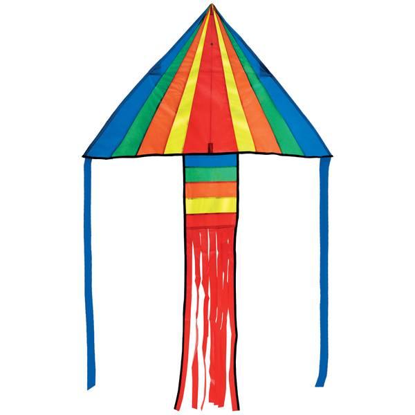 Rainbow Rocket Delta Kite