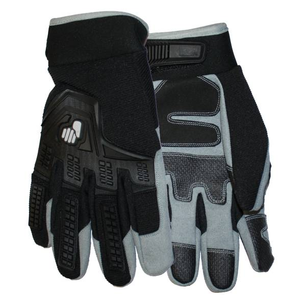 Men's Premium Synthetic Leather Palm Gloves Assortment