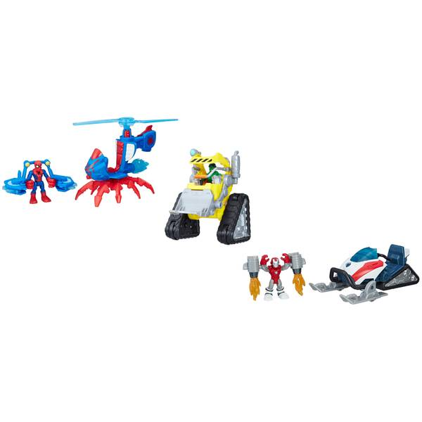 Marvel Super Hero Vehicle with Figure Assortment