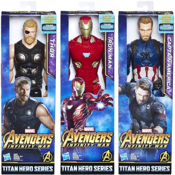 "Avengers Titan Hero 12"" Movie Figure Assortment"