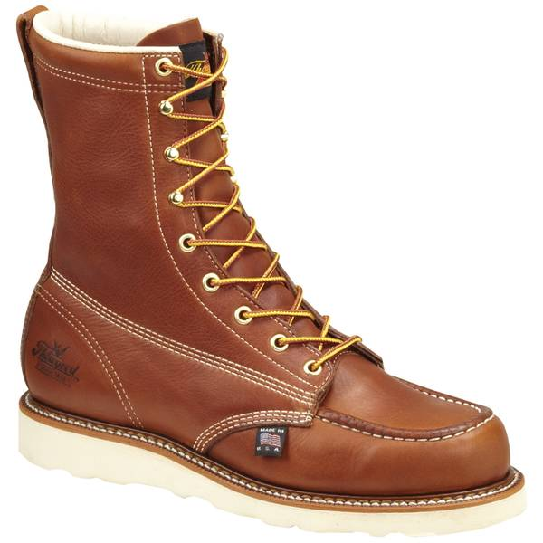 Men's Tobacco Gladiator American Heritage Moc Toe Boots - Made in USA