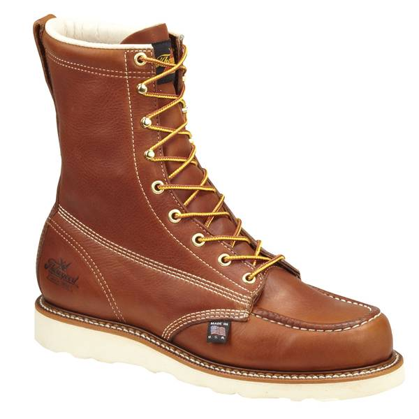 Men's Tobacco American Heritage Safety Toe Boots - Made in USA