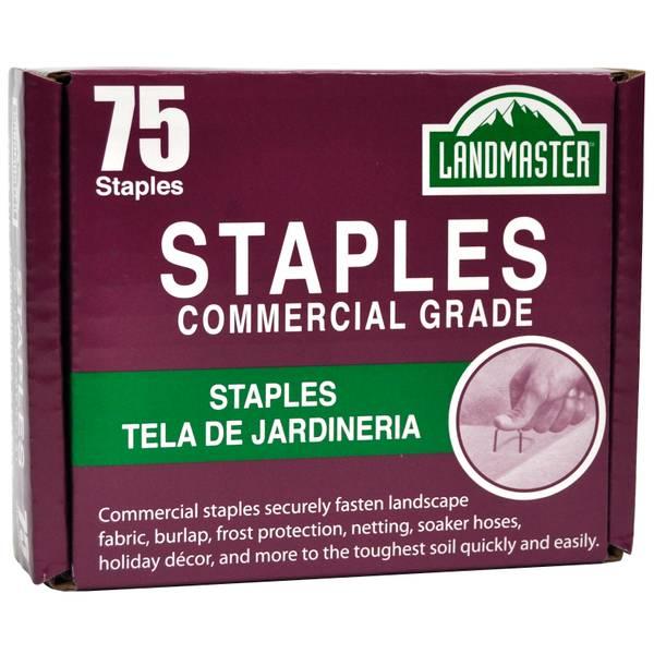 Pack-75 Landmaster Fabric & Sod Staples
