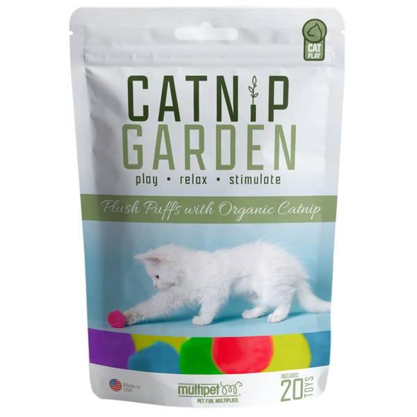 20-Pack Organic Catnip Puffs