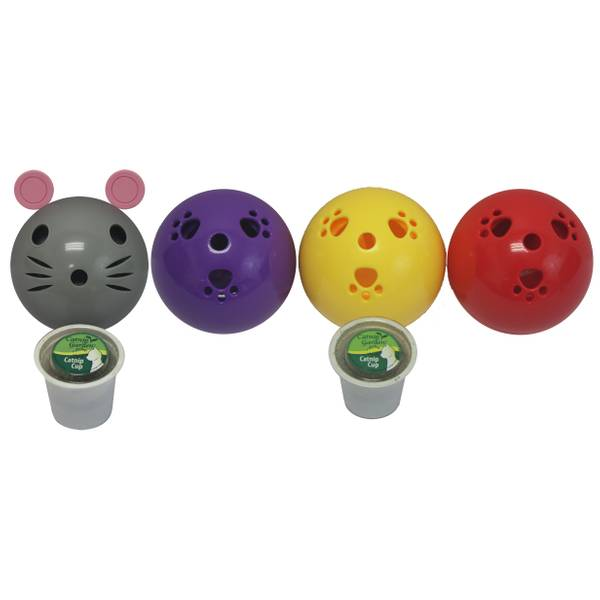 Kitty Sprinkles Ball or Mouse with Catnip Assortment