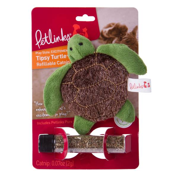 Refillable Tipsy Turtle