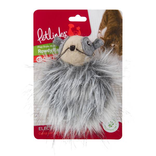 Rowdy Raccoon Pet Toy