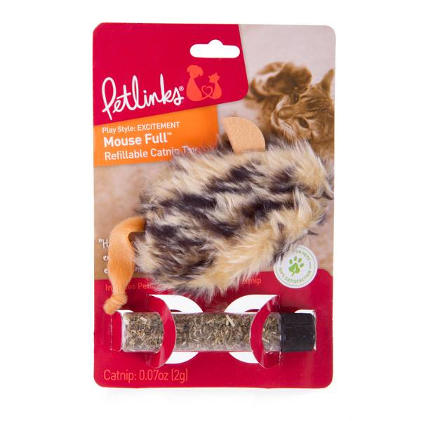 Refillable Petlinks Mousefull Pet Toy
