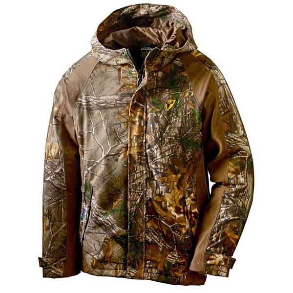 ROBINSON OUTDOOR PRODUCTS Men's Realtree Edge Drencher Rain Jacket