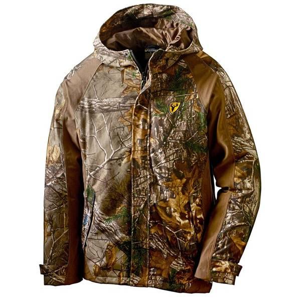Scent Blocker Men's Drencher Waterproof Rain Jacket