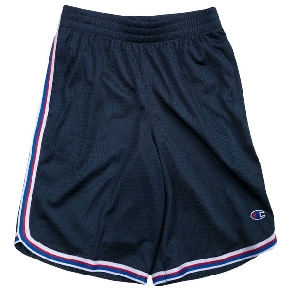 XL BB Tri-Color Tape Shorts Blue