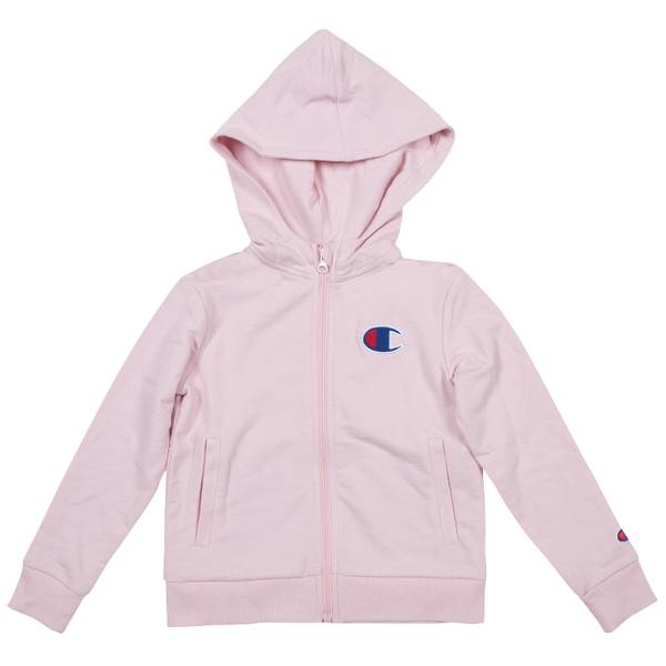 Girls' French Terry Zip Hoodie