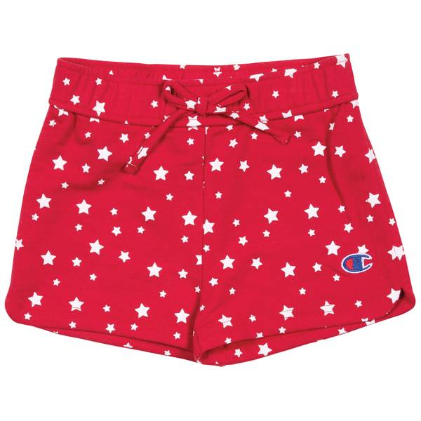 Girls' All-Over Star Print Shorts