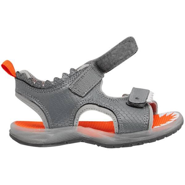 Boy's Gray Light-Up Sandals