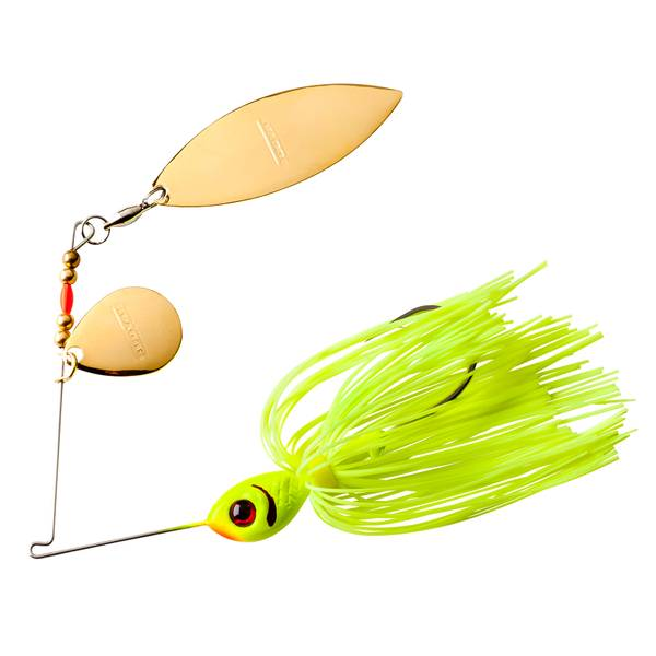 BOOYAH 3/8 oz Blade Chartreuse Fishing Lure