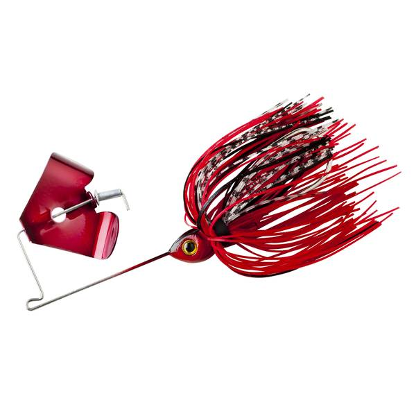 BOOYAH 1/8 oz Pond Magic Buzz Red Ant Fishing Lure