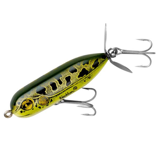 Heddon 3/8 oz Baby Torpedo Natural Leopard Fishing Lure