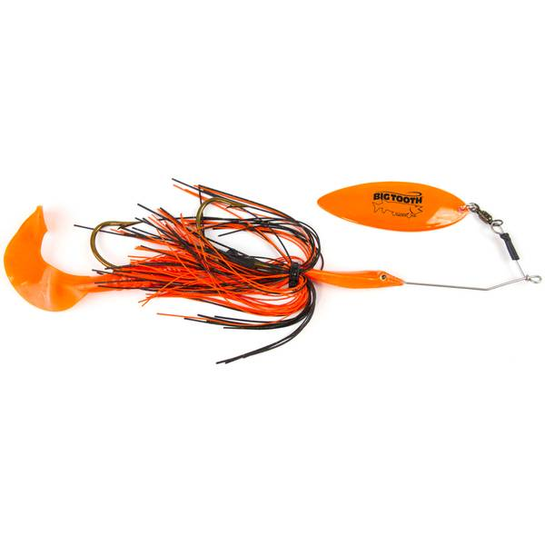 Clam Straight Weedless Wire Spinner Bait
