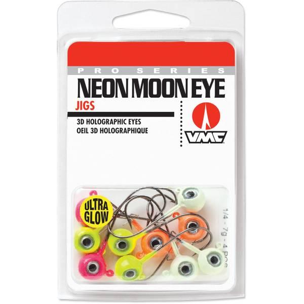 Neon Moon Eye Jig Glow Kit 1/4 oz Fishing Lure Assortment
