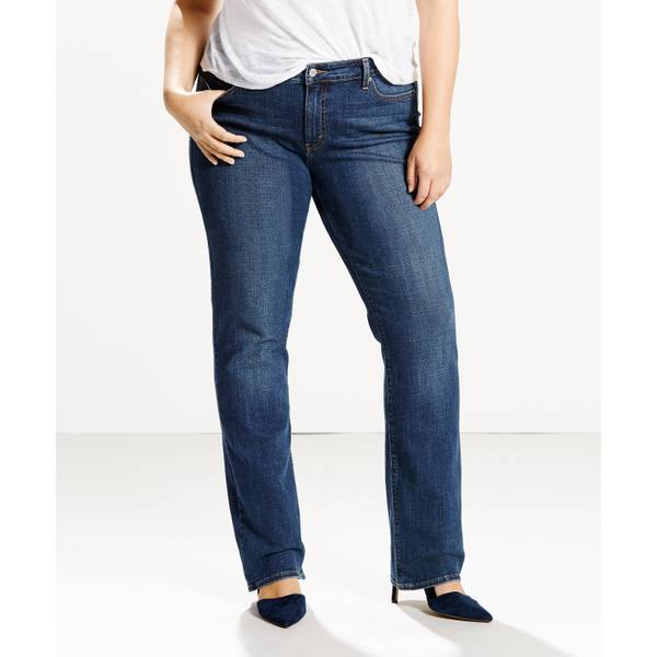 e1ce75e443b Levi's Women's 414 Relaxed-Fit Straight Jeans