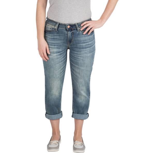 Misses Modern Slim Cuffed Capri Pants