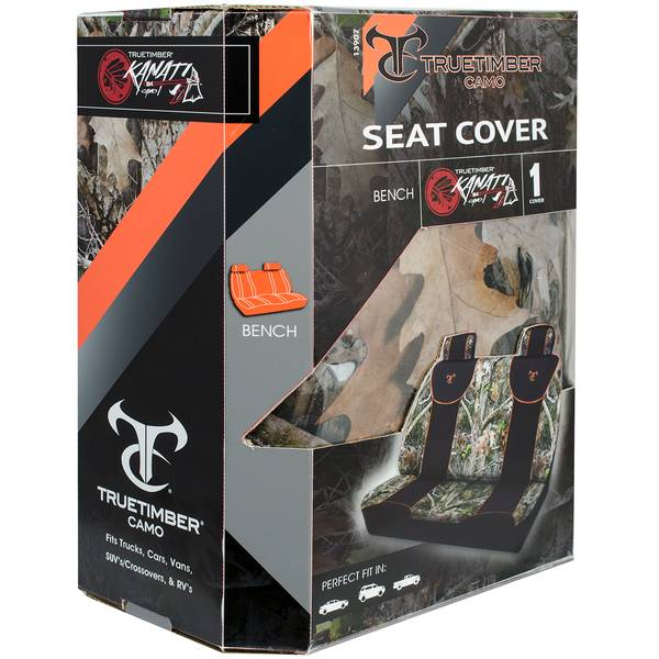 Camouflage Bench Seat Cover