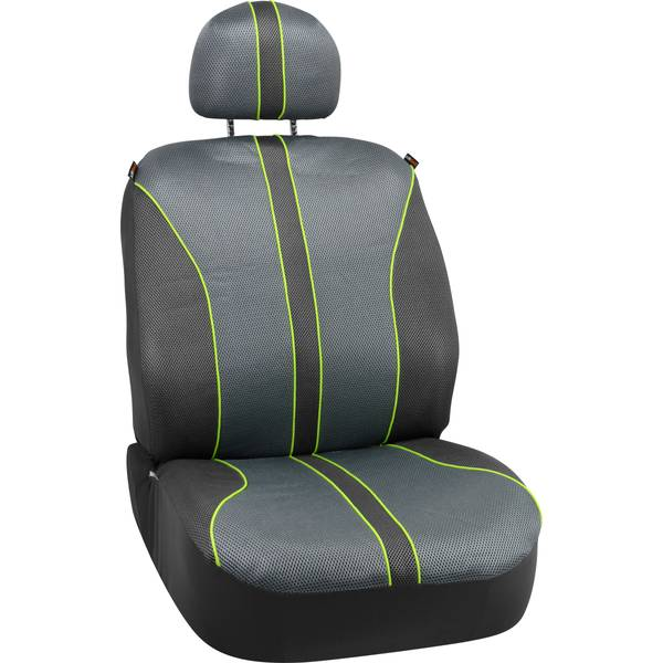 Green & Grey Sport Mesh Seat Cover