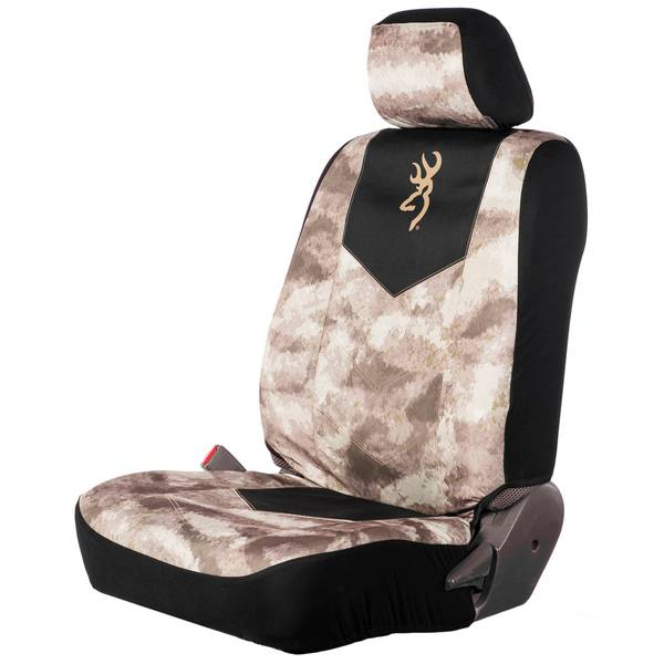 Chevron Camouflage Low Back Seat Cover