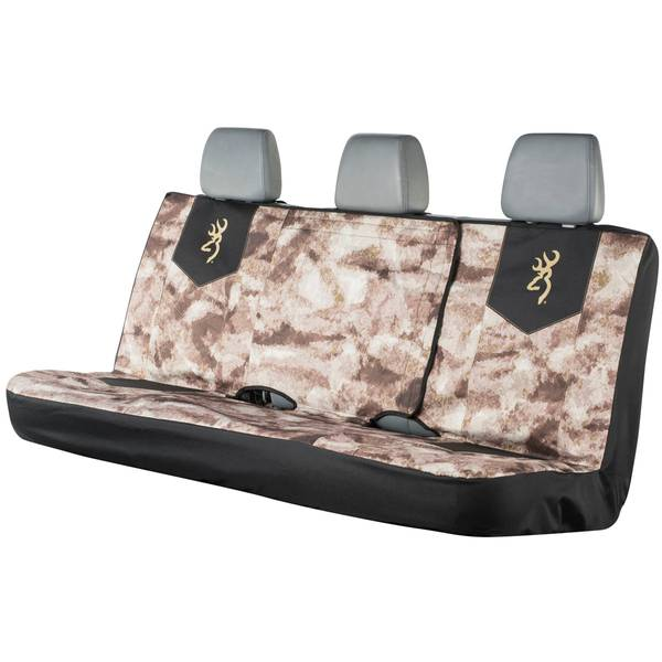 Chevron Camouflage Full Bench Seat Cover